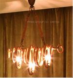 Iluminación interior distintiva decorativa de la lámpara pendiente de la cuerda de Phine