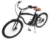 알루미늄 프레임 350W 무브러시 모터 전기 도시 자전거