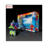 Изготовленный на заказ сильное corrugated - коробка бумаги доски упаковывая с ясным окном для игрушки, электронным