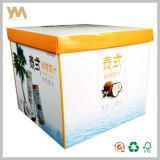 Kundenspezifischer gewölbtes Papier-Verpackungs-Kasten für Getränk
