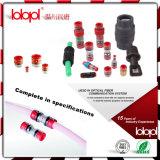 Redutor dos encaixes de tubulação do PVC (12-8mm), conetor do redutor de pressão, micro redutor do acoplamento 12-8mm