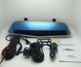Novatek 96655 volle HD Dashcam, 4.5 hinteres Spiegel-Auto-Videogerät des Zoll-1080P