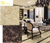 중국 (PG6099)에 있는 빛나는 Gold Color Stone Look Polished Porcelain Flooring Tiles