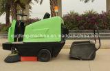 Balayeuse de route Mqf130 électrique, balayeuse d'ordures