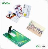De Aandrijving van de Flits van de Creditcard USB met het Aanpassen van Embleem (wy-C08)