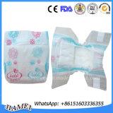 Tecido descartável elevado do bebê da boa qualidade da absorvência/cuidado do bebê