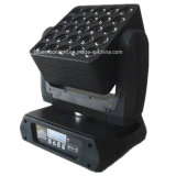 Notte Club LED RGBW 25PCS Moving Head LED Matrix Light