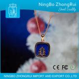 Gift 925 Echte Zilveren Reeks 7 van Kerstmis van Kerstmis van de Tegenhanger van de Juwelen van Lapis lazuli