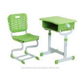 Kind-Studien-Schreibtisch-und Stuhl-Schule Furiture Kursteilnehmer-Stuhl-Klassenzimmer-Möbel (K025C+KZ12)