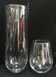 Unzerbrechliche elegante Stemless Champagne-Plastikflöte