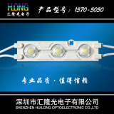 Virutas del módulo 2 LED de la inyección con la lente SMD blanco LED