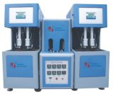 Botella Semi-Auto del jugo del moldeo por insuflación de aire comprimido del estiramiento del animal doméstico que hace la máquina