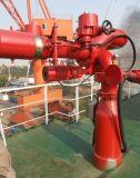 بحريّة سفينة [فيفي] نار خارجيّ يتنازع نظامة لأنّ مكافحة الحريق