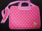 Модный розовый мешок компьтер-книжки неопрена для девушок