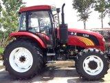 trattore agricolo della macchina 120HP con il caricatore della parte frontale