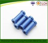 Части алюминия шестиугольника CNC подвергая механической обработке