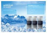Máquina de gelo Energy-Saving industrial de Delux para a venda