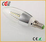 bulbo da vela do diodo emissor de luz da ampola E14 da vela 3W