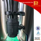 Pianta minerale naturale del sistema di trattamento di acqua sotterranea della montagna
