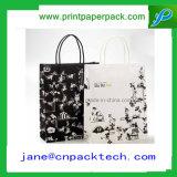 Sac cosmétique de cadeau de papier d'emballage de sac à provisions de sac d'OEM
