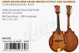 Mandolin Maw007 джаза Cutway двойника тела клена Aiersi твердый вычисляемый