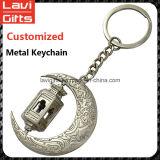 Giro de metal feito sob encomenda elevado Keychain de Quingity