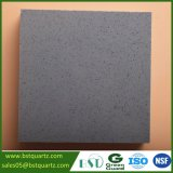 Pietra di superficie solida grigia del quarzo per il controsoffitto