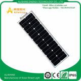 luz toda do sensor de movimento 30W em uma lâmpada ao ar livre solar