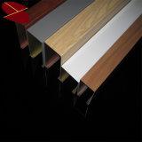 金属のアルミニウムバッフルの天井のシステムによって中断される金属の天井のタイル