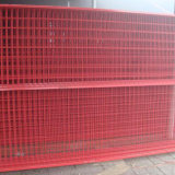 Treillis métallique soudé enduit par PVC de qualité avec le prix bon marché