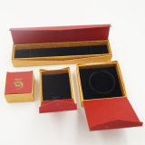 Produção da caixa de jóia do bracelete do anel da forma (J28-E)