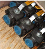 Шариковый клапан 3000psi давления кованой стали A105 высокий