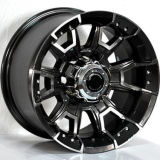 F9947 roule 18 19 20 la roue noire Rism d'alliage de véhicule de face de machine de pouce 5X112 pour Audi