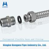 AISI 304 316L acanalan el manguito del metal de Flexble