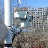 Cámara 100m de la visión nocturna de alta velocidad del IR del coche policía PTZ del CCD
