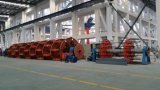 Máquina vertical do Laying-up de Cll, máquina da fabricação de cabos