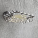 Suporte do sabão do chuveiro de Bathroom&Kitchen do aço inoxidável de prato de sabão de FLG
