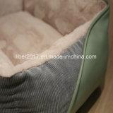 Haustier-Produkt-handgemachtes nähendes weiches Haustier-Hundebett-Luxuxhundesofa