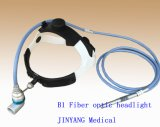 Lâmpadas cirúrgicas elevadas da luz da cabeça da fibra óptica de Brightnes