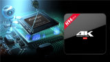 Le PRO Amlogic S912 Octa SYSTÈME D'EXPLOITATION 2GB/16GB de l'androïde 6.0 de cadre du faisceau TV de Wechip H96 conjuguent le boîtier décodeur 4k du WiFi Bt4.0 2.4G/5.8g H. 265