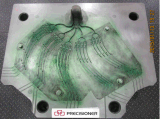 Алюминиевый инструмент заливки формы для части связи
