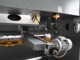 Tesouras hidráulicas da guilhotina QC11y-12X3200 que cortam a máquina