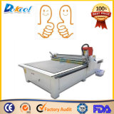 Máquina de oscilação do plotador da estaca da faca do CNC para a placa, caixa da caixa, esteira do pé, esteira do carro
