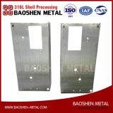 Fabricação personalizada do quadro de metal de folha com o fornecedor de dobra de China do procedimento de soldadura da estaca do laser