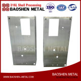 Customized Stainless Steel 304 Sheet Metal Frame Fabrication Componentes Usinados