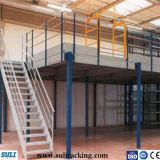 Multi-Tier Mezzanin-Fußboden-Stahlzahnstange für Lager-Speicher