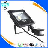 50W LED 플러드 빛 PIR 운동 측정기 빛에 새로운 5W