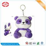 Gatto del gattino con il giocattolo di Keychain del regalo della peluche ricamato cuore