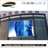 Module polychrome extérieur mince de papier d'étalage de 3535 signes de l'écran SMD de P10 DEL