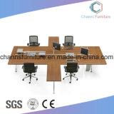 Heißer verkaufenbüro-Melamin-metallhaltiger Computer-Schreibtisch-Möbel-Arbeitsplatz